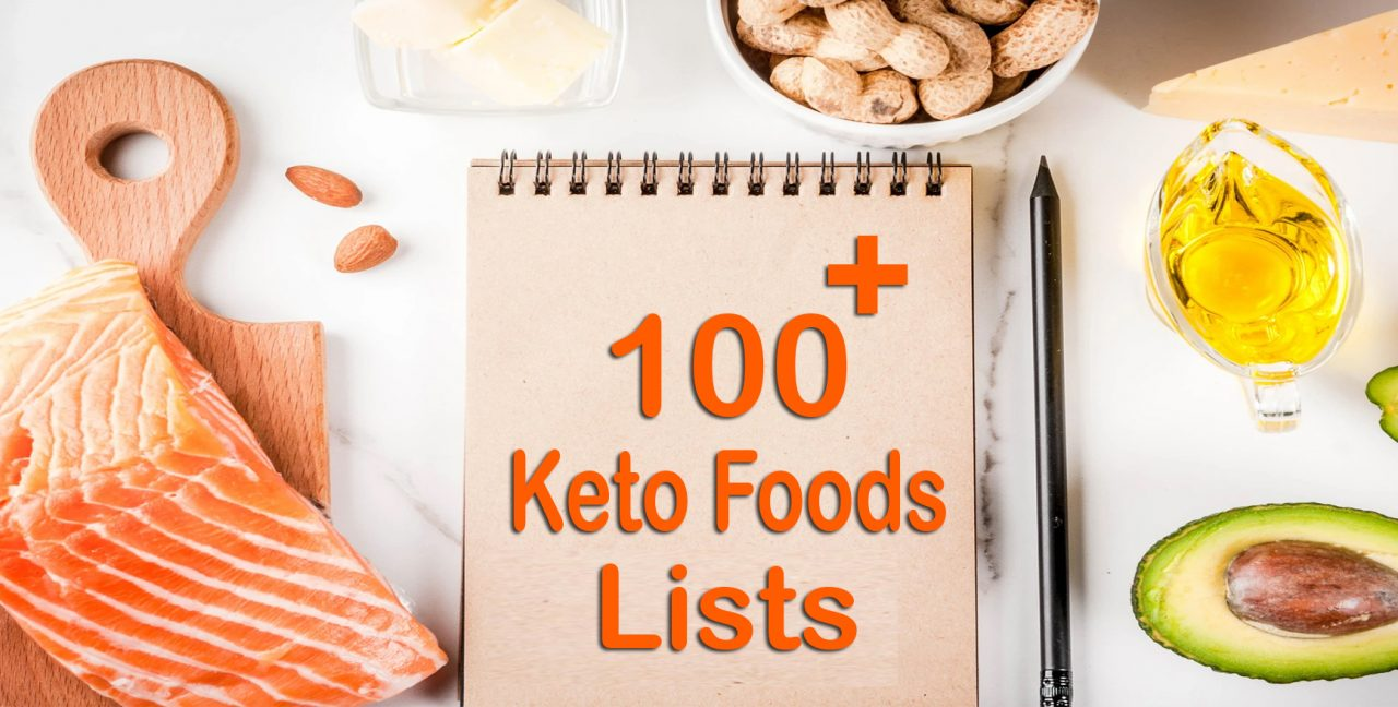 Ketogenic diet food list pdf FREE download (100+ Items)