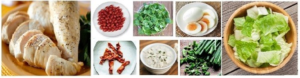 This is ingredients 2 of keto lunch meal prep and healthy salad recipes for lunch