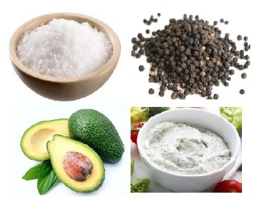 This is ingredients of keto lunch meal prep
