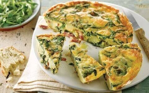 This is healthy vegetable frittata recipe baked for quick keto breakfast